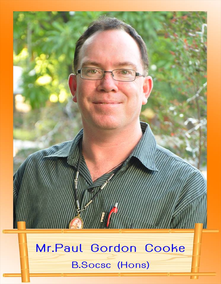 Mr.Paul Gordon Cooke